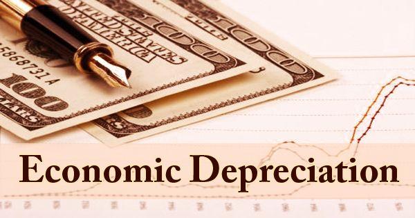 Economic Depreciation