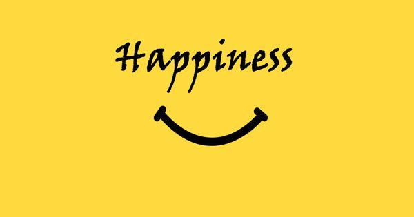 Happiness – an Open Speech