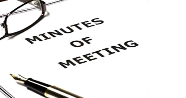 Importance of minutes in Business Meeting