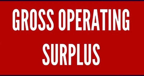 Gross Operating Surplus (GOS)