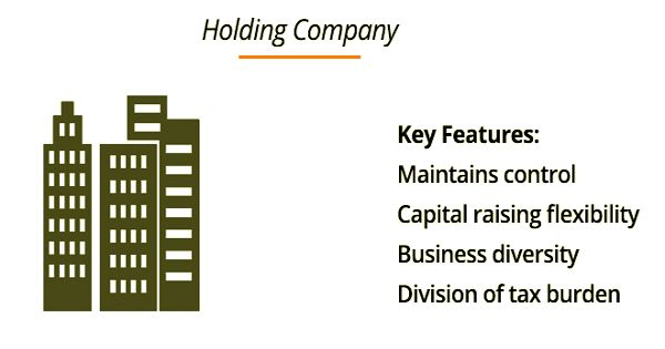 Advantages of Holding Company