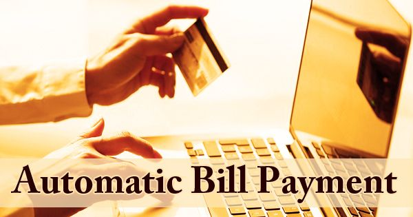 Automatic Bill Payment