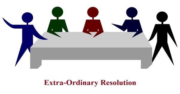 Extra-Ordinary Resolution