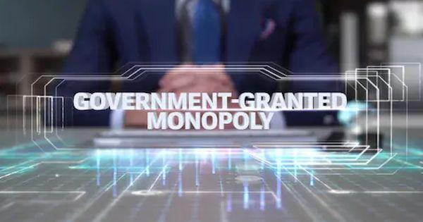Government-granted Monopoly in economics