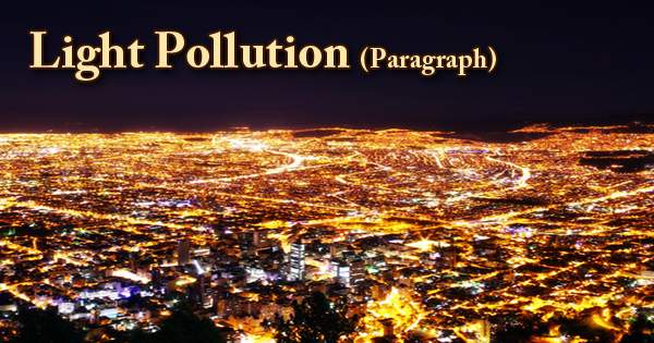 Light Pollution (Paragraph)