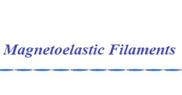 Magnetoelastic filaments
