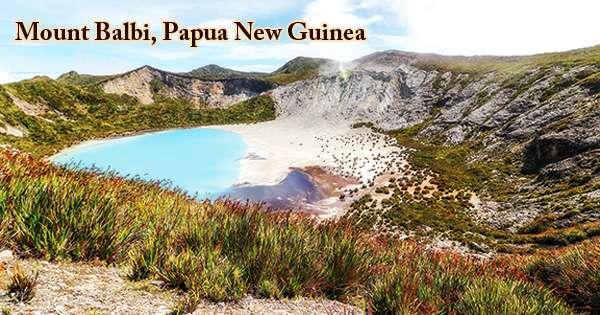 Mount Balbi, Papua New Guinea
