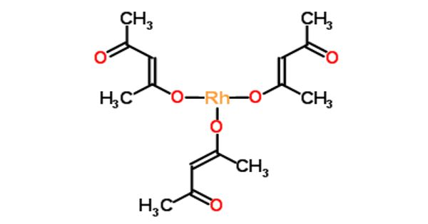 Rhodium Acetylacetonate – a coordination complex