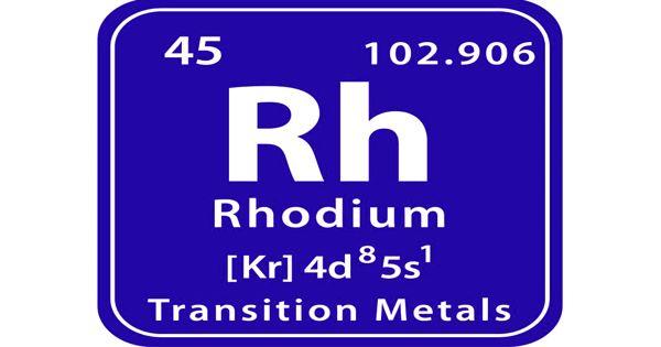 Rhodium – a chemical element