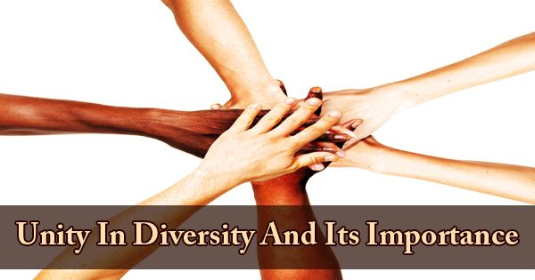 Unity In Diversity And Its Importance