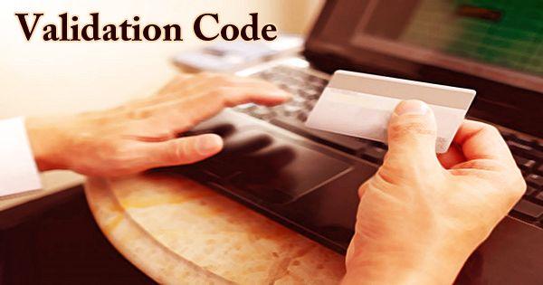 Validation Code