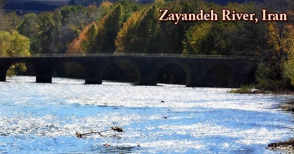 Zayandeh River, Iran