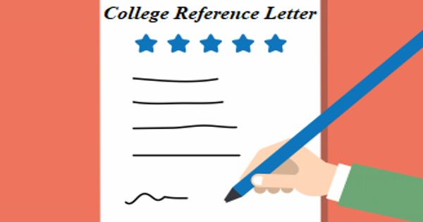 College Reference Letter from Teacher