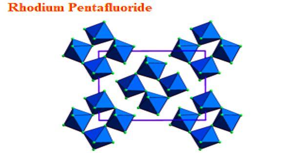 Rhodium Pentafluoride – an inorganic compound