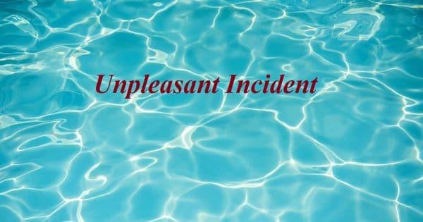 Unpleasant Incident – an Open Speech