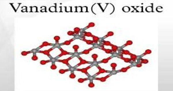 Vanadium (V) Oxide – an inorganic compound