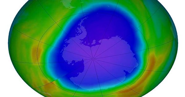 Ozone Recovery Is Restoring the Antarctic's Wind Systems