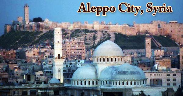Aleppo City, Syria