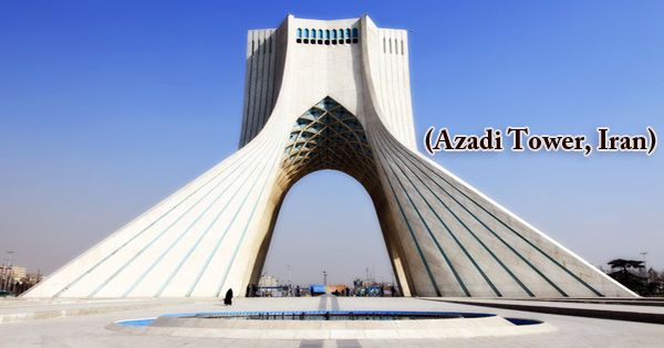 A Visit To A Historical Place/Building (Azadi Tower, Iran)