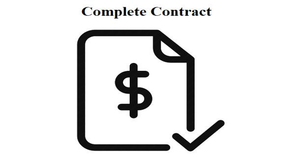 Complete Contract – an important concept from contract theory