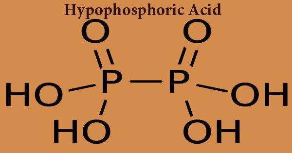 Hypophosphoric Acid