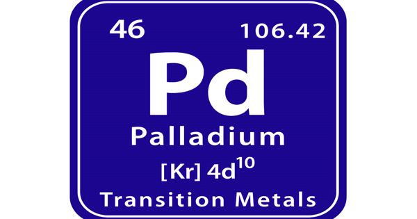 Palladium – a chemical element