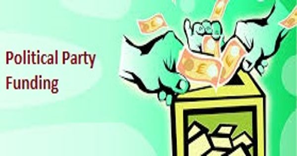Political Party Funding – a method used by a political party to raise money