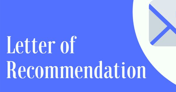 Recommendation Letter for admission to a school
