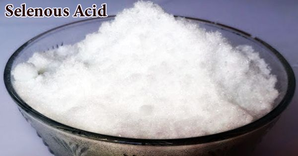 Selenous Acid