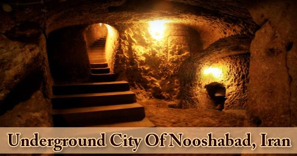 Underground City Of Nooshabad, Iran