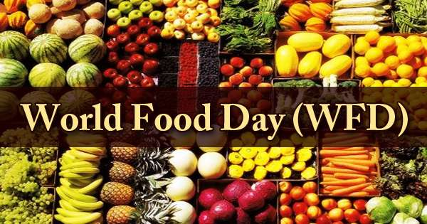 World Food Day (WFD)