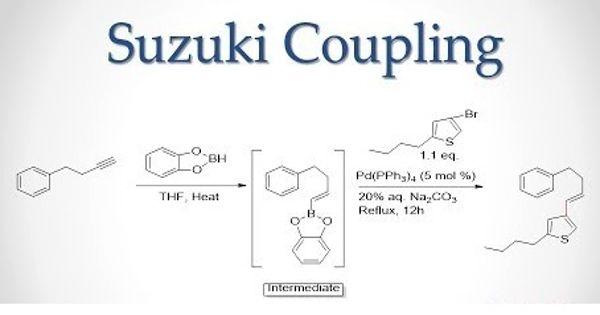 Suzuki reaction – an organic reaction