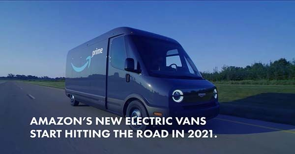 Amazon begins testing customer deliveries using Rivian electric vans