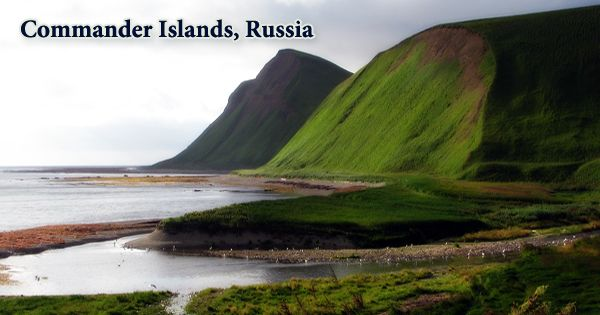 Commander Islands, Russia