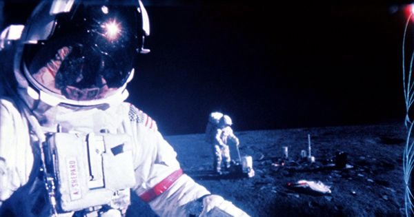 Fifty Years On, Alan Shepard's Golf Ball Has Been Found On The Moon