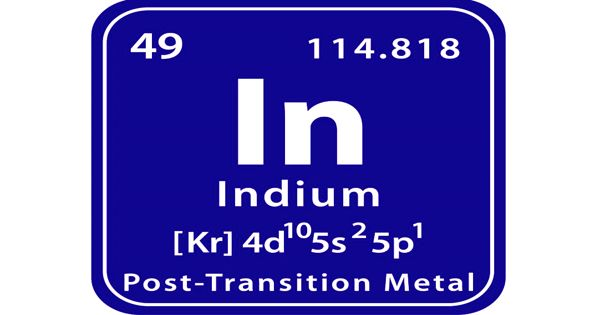 Indium – a chemical element