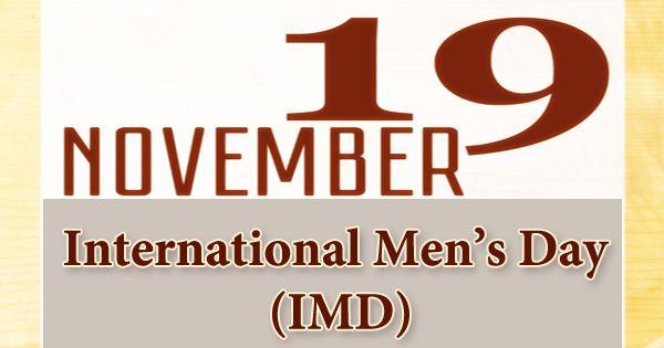 International Men's Day (IMD)