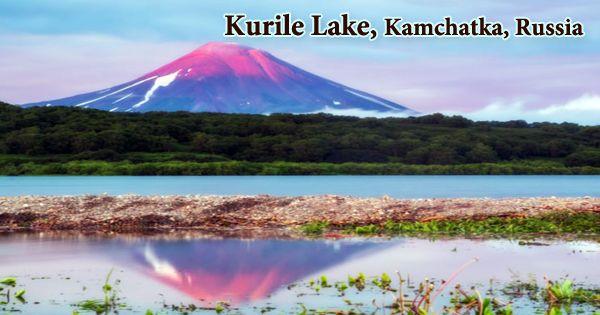 Kurile Lake, Kamchatka, Russia