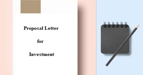 Proposal Letter for Investment