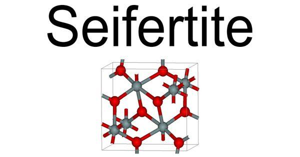 Seifertite – a silicate mineral