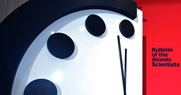 Thanks To 2020, Doomsday Clock Remains Closest to Midnight it is Ever Been