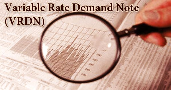 Variable Rate Demand Note (VRDN)