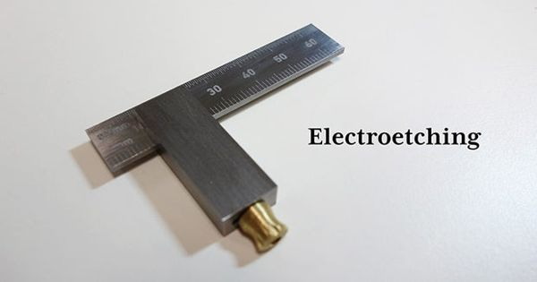 Electroetching – a metal etching process