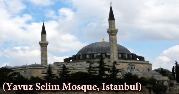 A Visit To A Historical Place/Building (Yavuz Selim Mosque, Istanbul)