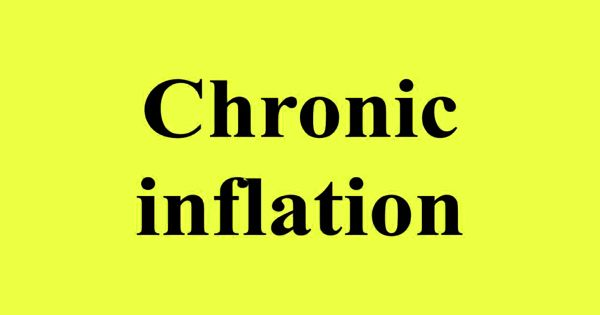 Chronic inflation – an economic phenomenon