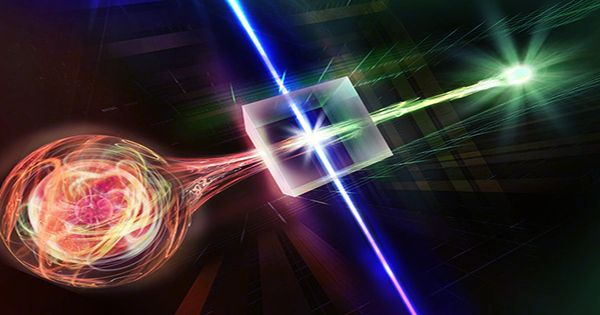 First Quantum Entanglement Of Distant Objects Large Enough To See