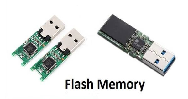 Flash memory – an electronic non-volatile computer memory storage medium