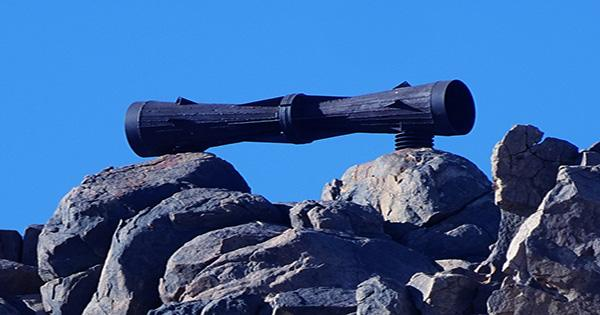 In The Middle Of The Mojave Desert, There's A Gigantic Megaphone, And Nobody Knows Why