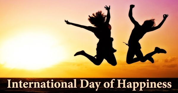 Celebrating The International Day Of Happiness