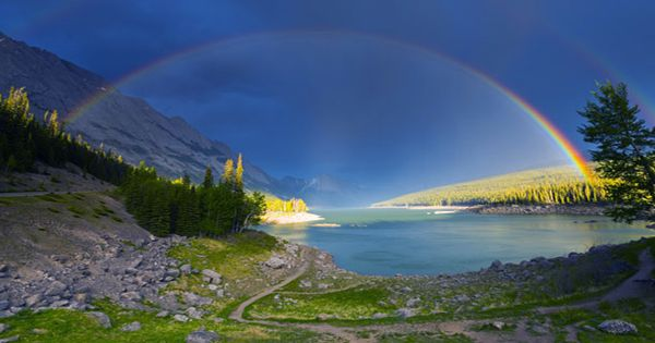 Is This The Best Place In The World To See Rainbows?